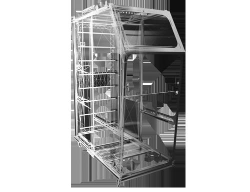 Cabines op maat gemaakt van metaal staal aluminium