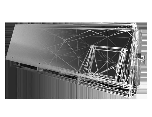 Schakelkasten op maat gemaakt van metaal staal aluminium