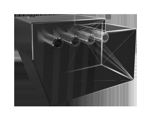 Tanks op maat gemaakt van metaal staal aluminium