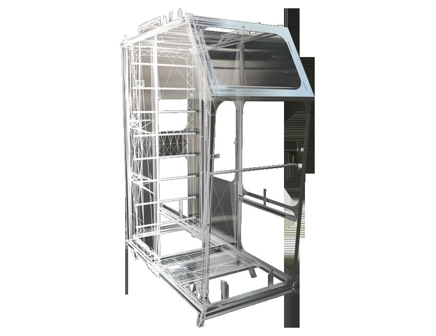 Cabines op maat gemaakt van metaal staal aluminium-01