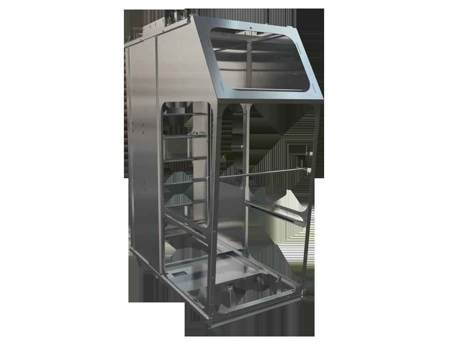Cabines op maat gemaakt van metaal staal aluminium-02